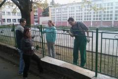 Maľovanie plota 2016